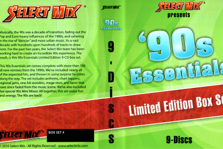 Select Mix 90′s Essentials Box Set...